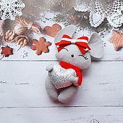 Игрушки ручной работы. Ярмарка Мастеров - ручная работа Мышка символ 2020 года игрушка в подарок. Handmade.