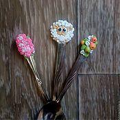 Посуда handmade. Livemaster - original item Spoon polymer clay. Handmade.
