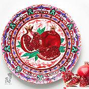 Посуда handmade. Livemaster - original item The decorative plate on the wall,