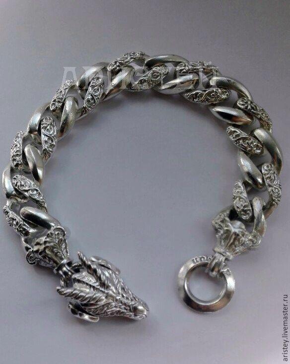 "Браслет ""Дракон"", Chain bracelet, Moscow,  Фото №1"