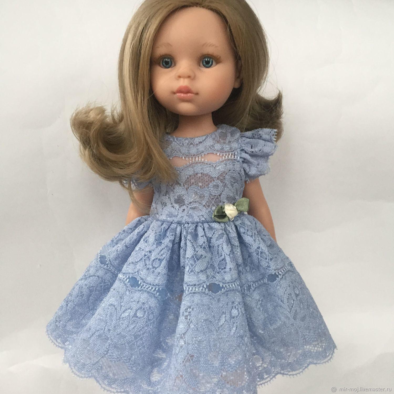 Одежда для кукол Паола Рейна. Платье 62, Одежда для кукол, Санкт-Петербург,  Фото №1