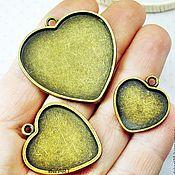 Материалы для творчества handmade. Livemaster - original item Base for pendant Art.OKL09. Handmade.