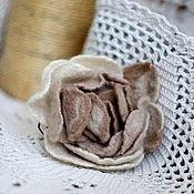"""Украшения ручной работы. Ярмарка Мастеров - ручная работа брошь """" matin rose"""". Handmade."""