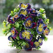 Цветы и флористика handmade. Livemaster - original item PANSIES. Handmade.