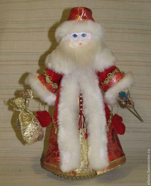 Новый год 2017 ручной работы. Ярмарка Мастеров - ручная работа. Купить Дед Мороз. Handmade. Дед мороз, кукла-оберег
