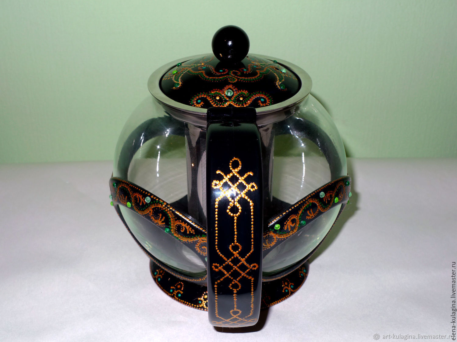The teapot 'emerald East', Teapots & Kettles, Moscow,  Фото №1