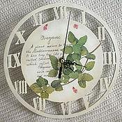 """Для дома и интерьера ручной работы. Ярмарка Мастеров - ручная работа часы """"орегано"""". Handmade."""