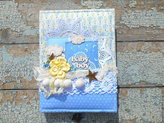 Блокнот для мамы малыша, мастерская скрапбукинга Living History