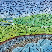 Картины и панно ручной работы. Ярмарка Мастеров - ручная работа Объёмная бумажная мозаика «У моря». Handmade.