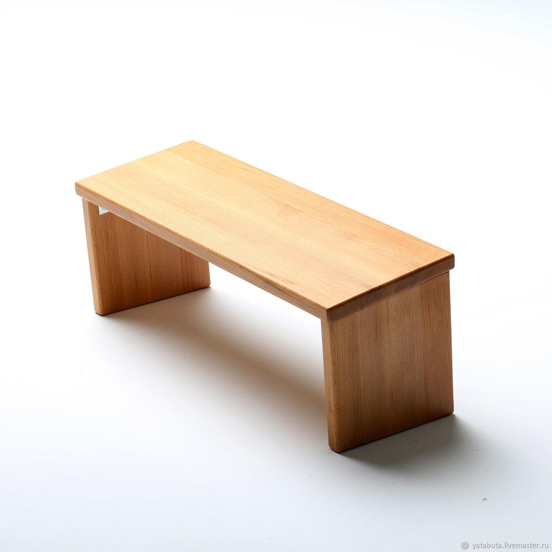 Скамейка для медитации складная из бука, Медитация, Москва, Фото №1