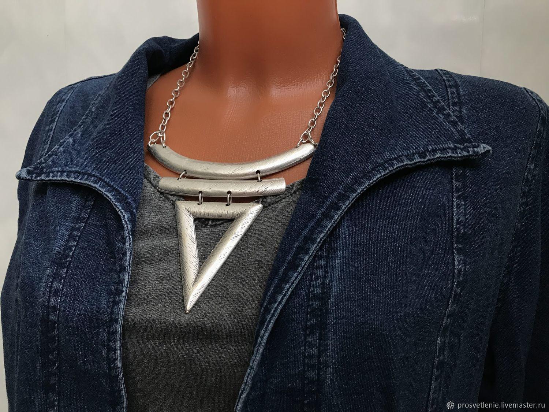 Decoration in the style of boho ethnic hippie. Universal necklace, stylish pendant, Necklace, Voronezh,  Фото №1
