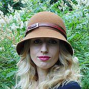 Аксессуары ручной работы. Ярмарка Мастеров - ручная работа Фетровая шляпа на каждый день. Handmade.