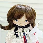 Куклы и игрушки ручной работы. Ярмарка Мастеров - ручная работа Текстильная авторская кукла Мэгги. Handmade.