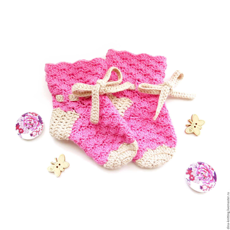 Мк вязания детских носок