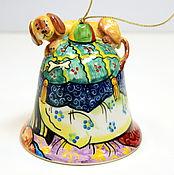 """Сувениры и подарки ручной работы. Ярмарка Мастеров - ручная работа Колокольчик """"Такса"""". Handmade."""