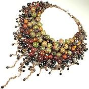 Украшения handmade. Livemaster - original item Maple Parfait. Necklace. Handmade.