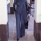 """Костюмы ручной работы. Костюм """"Марлен Дитрих"""".  Жакет+широкие брюки.. Kseniya i Studiya dizajna 'KsMezo'. Ярмарка Мастеров."""