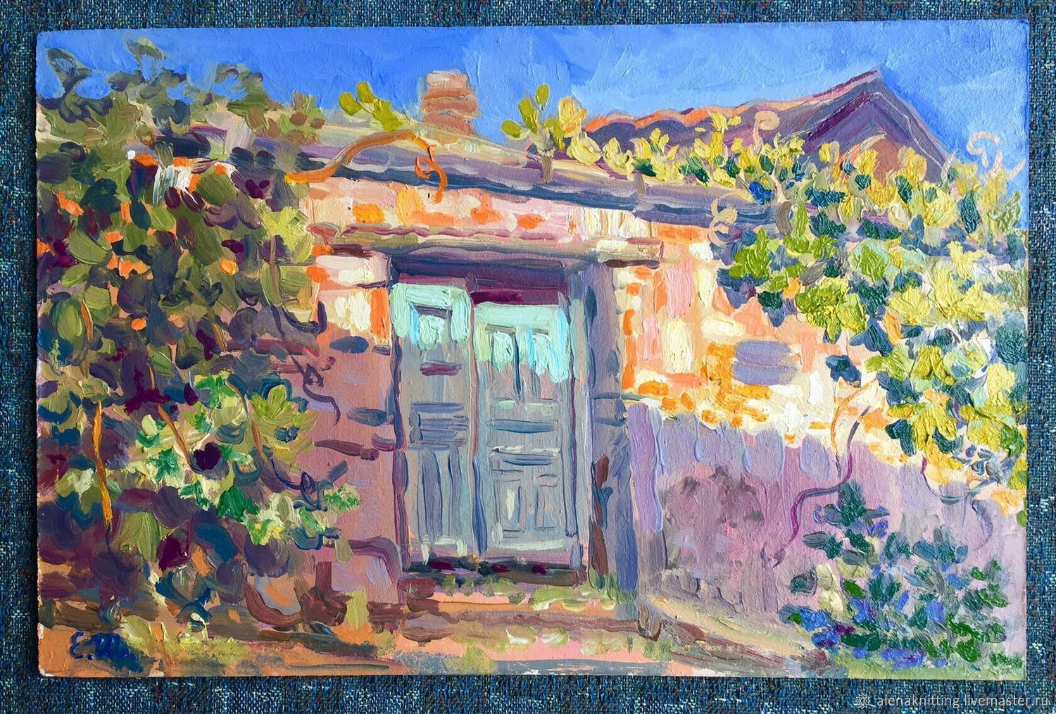Oil sketch ' Sunny Bakhchisaray», Pictures, Moscow,  Фото №1