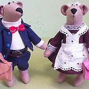 Куклы и игрушки ручной работы. Ярмарка Мастеров - ручная работа И снова в школу. Пара мышей.. Handmade.