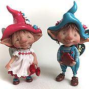 Куклы и игрушки ручной работы. Ярмарка Мастеров - ручная работа Эльфы любви. Handmade.