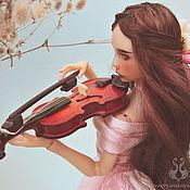 Куклы и игрушки ручной работы. Ярмарка Мастеров - ручная работа Шарнирная кукла Жасмин. Handmade.