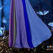"""Одежда ручной работы. Ярмарка Мастеров - ручная работа шифоновая юбка """"Волшебный мир"""" 12-клинка. Handmade."""