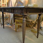 Для дома и интерьера ручной работы. Ярмарка Мастеров - ручная работа Стол дубовый письменный. Handmade.