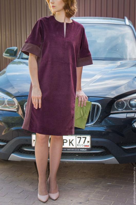 Платья ручной работы. Ярмарка Мастеров - ручная работа. Купить Платье цвета Марсала. Handmade. Бордовый, повседневное платье
