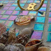 Для дома и интерьера ручной работы. Ярмарка Мастеров - ручная работа мозаика подарок мужчине заядлому рыбаку вешалка- ключница. Handmade.