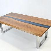 Для дома и интерьера ручной работы. Ярмарка Мастеров - ручная работа Журнальный стол река. Handmade.