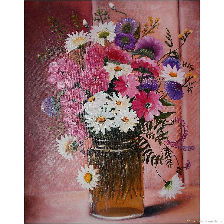 Полевые цветы, Картины, Владимир,  Фото №1