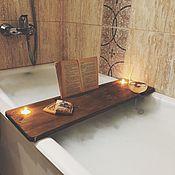 Элементы интерьера ручной работы. Ярмарка Мастеров - ручная работа Полочка в ванную. Handmade.