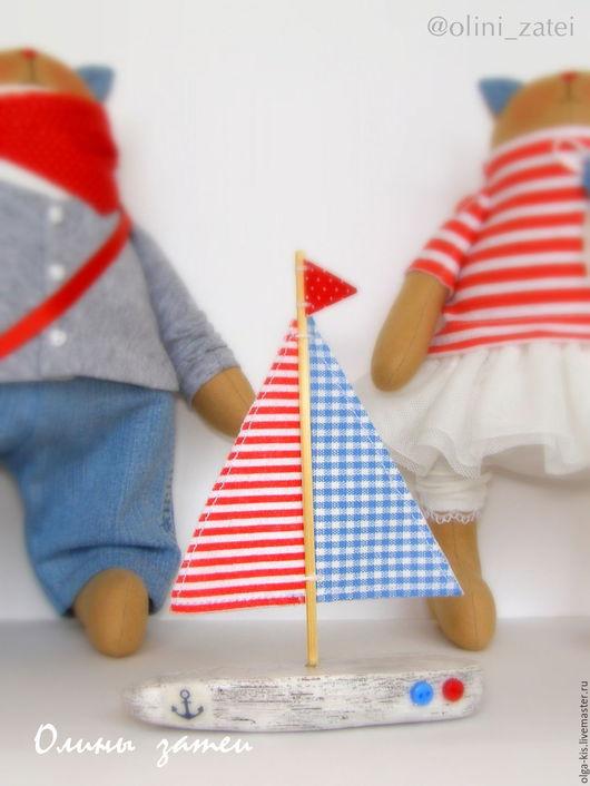 Куклы Тильды ручной работы. Ярмарка Мастеров - ручная работа. Купить Морские Котики в стиле Тильда. На заказ. Handmade.