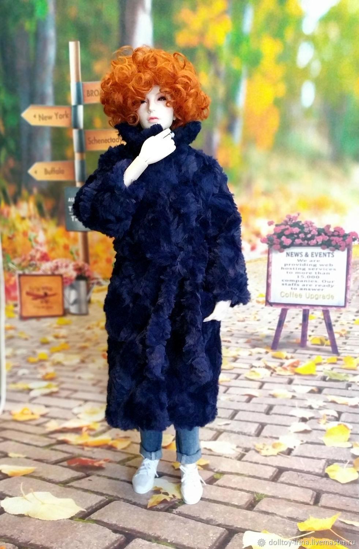 Шуба для БЖД SD 62 см, Шарнирная кукла, Москва,  Фото №1
