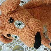Куклы и игрушки ручной работы. Ярмарка Мастеров - ручная работа Оранжевий Пес с Львиной Душой. Handmade.