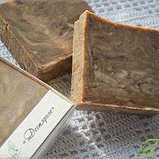 Косметика ручной работы. Ярмарка Мастеров - ручная работа Дегтярное - натуральное мыло. Handmade.