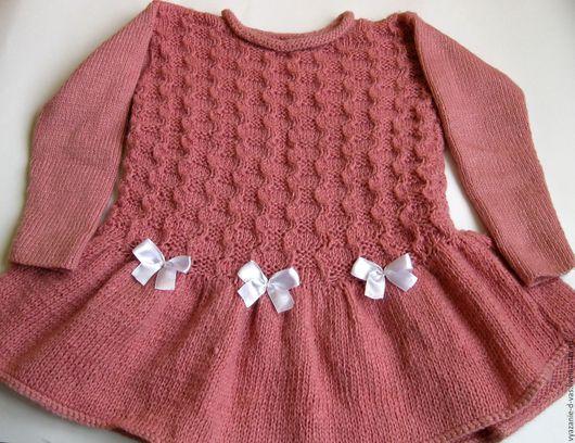 Одежда для девочек, ручной работы. Ярмарка Мастеров - ручная работа. Купить Платье для девочки  вязаное  детское  Принцесса. Handmade.