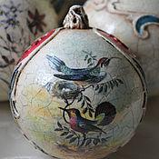 Подарки к праздникам handmade. Livemaster - original item Set of Christmas balls:,, Inspired By D&G ,. Handmade.