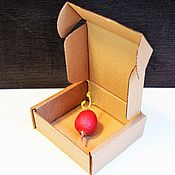 "Материалы для творчества ручной работы. Ярмарка Мастеров - ручная работа коробка ""Простая-29"" 11х11х4 см маленькая крафт квадратная. Handmade."