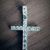 Украшения ручной работы. Ярмарка Мастеров - ручная работа Крест из серебра. Handmade.