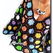 """Одежда ручной работы. Ярмарка Мастеров - ручная работа Пуловер """"Цветотерапия"""". Handmade."""