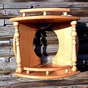 Для дома и интерьера handmade. Livemaster - original item Corner shelf.2-tier.. Handmade.