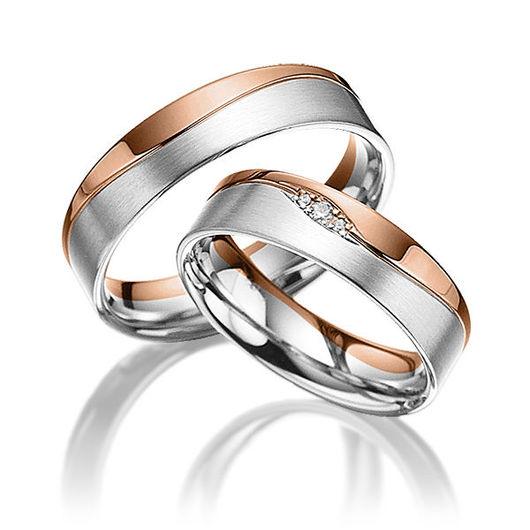 Свадебные украшения ручной работы. Ярмарка Мастеров - ручная работа. Купить Обручальные кольца Fashion 22-022 NEW. Handmade.