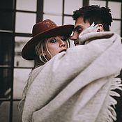 Для дома и интерьера handmade. Livemaster - original item Wool plaid scarf