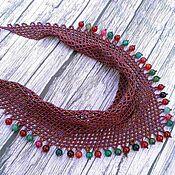 Украшения handmade. Livemaster - original item Scarf-beaded necklace. Handmade.