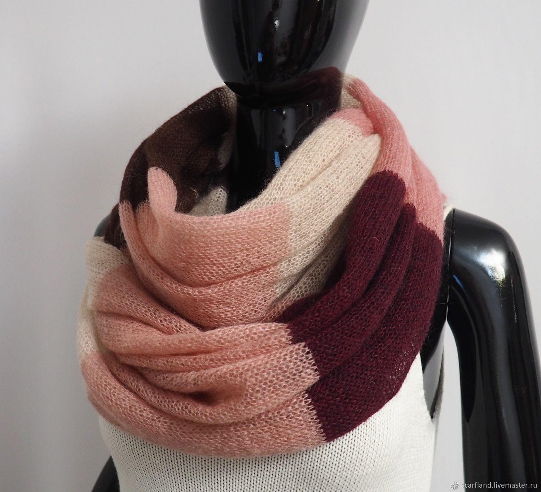 Snood knitted 2 turns of kid mohair, Snudy1, Cheboksary,  Фото №1