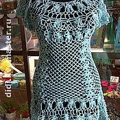 """Одежда ручной работы. Ярмарка Мастеров - ручная работа платье-туника""""Голубая мечта"""". Handmade."""