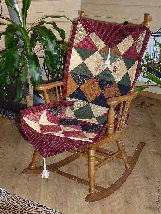 """Текстиль, ковры ручной работы. Ярмарка Мастеров - ручная работа. Купить Коврик """" Конвертики"""". Handmade. Коврик, лоскутное шитье"""