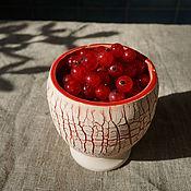 Утварь ручной работы. Ярмарка Мастеров - ручная работа стаканчик ягодный. Handmade.