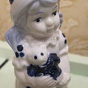 Материалы для творчества ручной работы. Ярмарка Мастеров - ручная работа Девочка с мишуткой. Handmade.